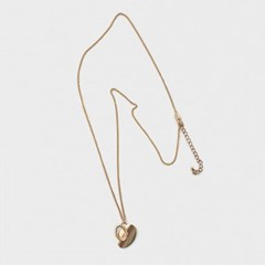 heart motif necklace