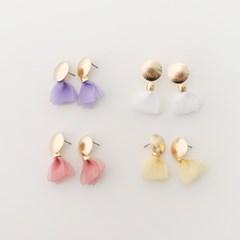 soft tassel earring