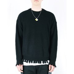 damage knitwear (2color)