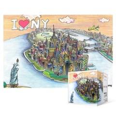 108피스 직소퍼즐 / 맨하탄 (미니)
