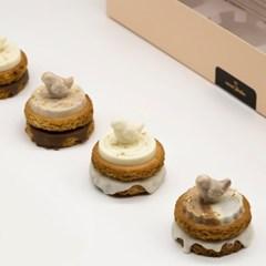 [카카오바바]버터 버드 쿠키