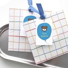 풍선 생일축하 택(10개)