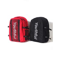 SIDE LOGO BACKPACK-RED