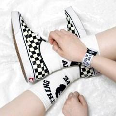 페이즐리 패턴 손목 밴드 팔찌 (2색상)