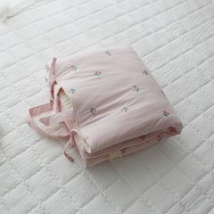 솜사탕 핑크체리 어린이집 낮잠패드(단품)