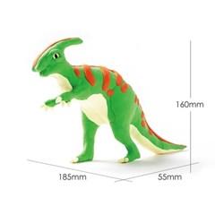 해피플레이 로버드 입체퍼즐 공룡 클레이 파라사우롤로푸스