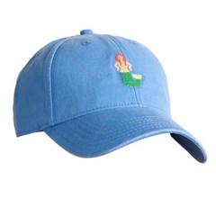 [Hardinglane]Adult`s Hats Mermaid on Periwinkle Blue