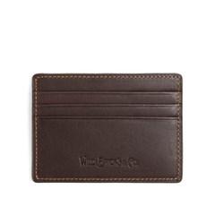 WB CARD CASE (dark brown)