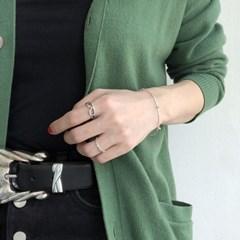 [925실버] 빈티지 도형 반지 vintage figure ring