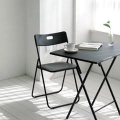 타운 사각 접이식 의자