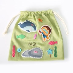 [펠트친구]바다탐험 바느질 연습주머니 만들기