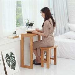 [리코베로] 티아모 소나무원목 화장대세트 2가지 컬러