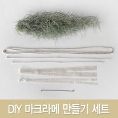 마크라메 수염 틸란드시아 만들기(DIY) SET