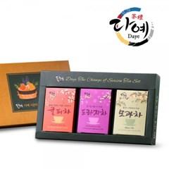 [다예] 시즌티 선물세트 3종 (쇼핑백 포함)