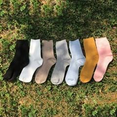 [남녀공용]Cozy socks 7 color