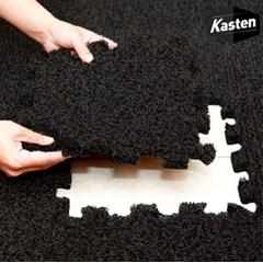카스텐 프리미엄 퍼즐 코일매트 (블랙,그레이,브라운,레드)
