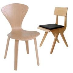 [꼬모까사]우드시리즈-의자(5종)창고대방출상품