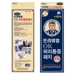 프리미엄 OK 허리통증 동전패치(6+리필2매)_(2244964)