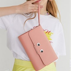 LOVE CHAMR_ 주근깨 Cluch (Coral Pink)