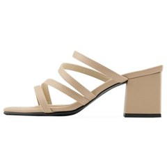 SPUR[스퍼] 뮬 OS9083 Strappy mule 베이지