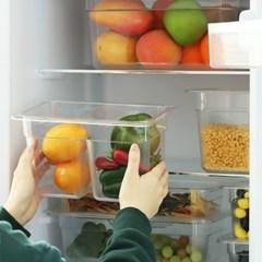 투명 PC 밧드 바트 뚜껑 반찬통 냉장고정리용기_(2095288)