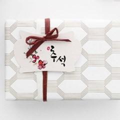 추석꽃 택(10개)