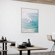 서퍼 파도 바다 그림 액자 인테리어 포스터