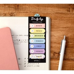 Sticky Notes Journal - Daily Colorful