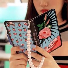 갤럭시S7엣지 (G935) OrienpopBeauty-Pink 지갑 다이어리 케이스
