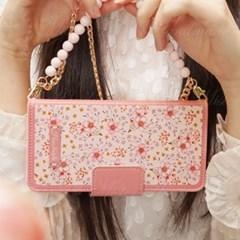 갤럭시S7엣지 (G935) Nosegay-PinkBlossom 지갑 다이어리 케이스
