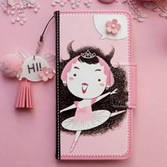 갤럭시S7엣지 (G935) CibeeGirl-Pink 지갑 다이어리 케이스