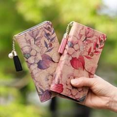 갤럭시S7엣지 (G935) Wood-Oliva-T 우드 지갑 다이어리 케이스
