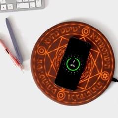 위저드 마법진 무선 스마트폰 충전기