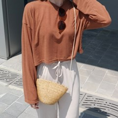 Bangkok straw bag