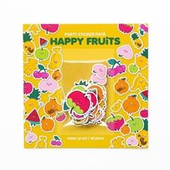 파티 스티커팩 HAPPY FRUITS