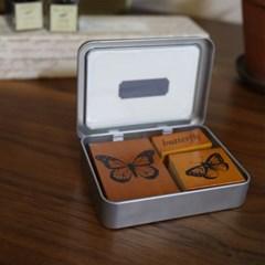 Cavallini 미니스탬프세트-Butterflies