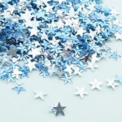 (몽스쿨) DS0049-3 별 큐빅 하늘색 1cm(200P)_(1581388)