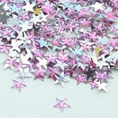 (몽스쿨) DS0049-2 별 큐빅 연한핑크 1cm(200P)_(1581387)