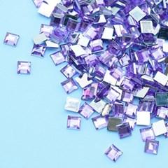 (몽스쿨) DS0047-5 사각네모큐빅 연보라 0.6cm(200P)_(1581380)