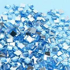 (몽스쿨) DS0047-3 사각네모큐빅 하늘색 0.6cm(200P)_(1581378)