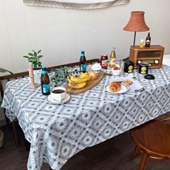 에스닉파티 식탁보 테이블보 2size 테이블러너