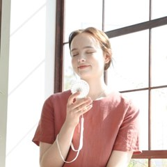 단순생활 휴대용 LED 미니 선풍기