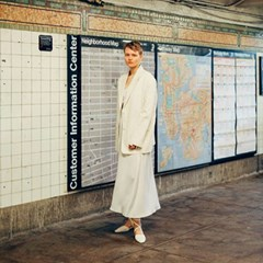 19 SS for her. MAXI ROBE (ivory)