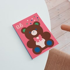 Flashcard Concept Book [B] 무지노트(B6)