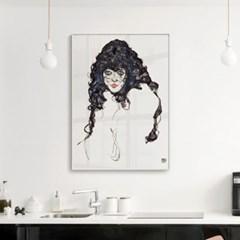메탈 모던 빈티지 명화 그림 아트 액자 에곤 쉴레 27