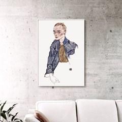 메탈 빈티지 아트 그림 포스터 액자 에곤 쉴레 21