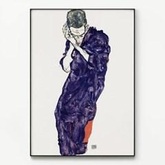 메탈 명화 드로잉 아트 포스터 그림 액자 에곤 쉴레 14