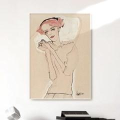 메탈 명화 일러스트 포스터 그림 액자 에곤 쉴레 5