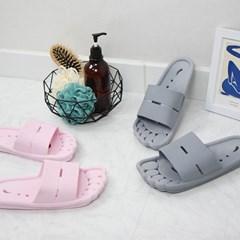 발가락 PVC 욕실화 - 2color