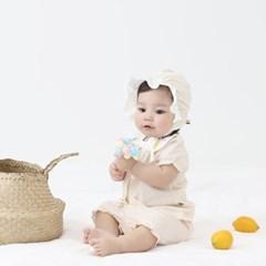 [메르베] 레모니 신생아 유아 내복/내의/아기실내복_여_(1261315)